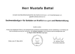 Kfz Sachverständigenbüro M. Battal